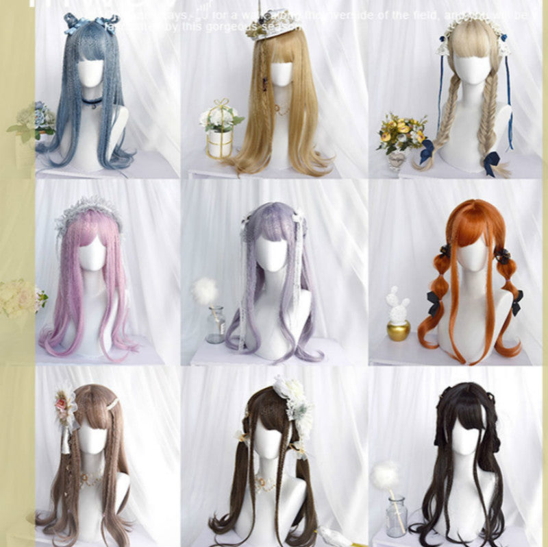 9 COLORS LOLITA CUTE LONG WIG BY31057