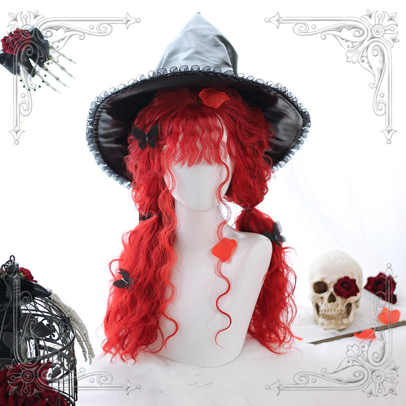 LOLITA [RED WITCH] SHEEP CURLY WIG
