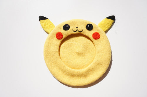 ''PIKACHU|POKEMON'' YELLOW BERET BY51023