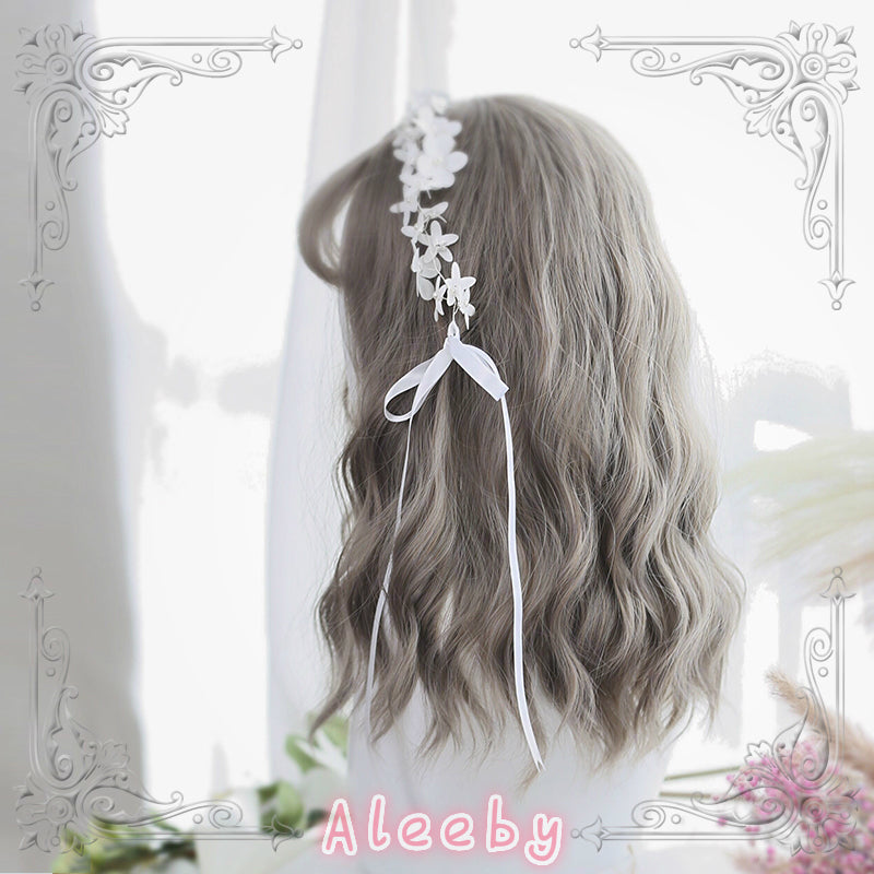 [POLLY] AIR BANGS WATERWAVE WIG BY31089