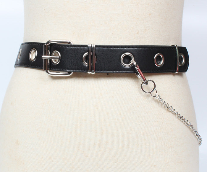 PUNK CHAIN BELT BY18017
