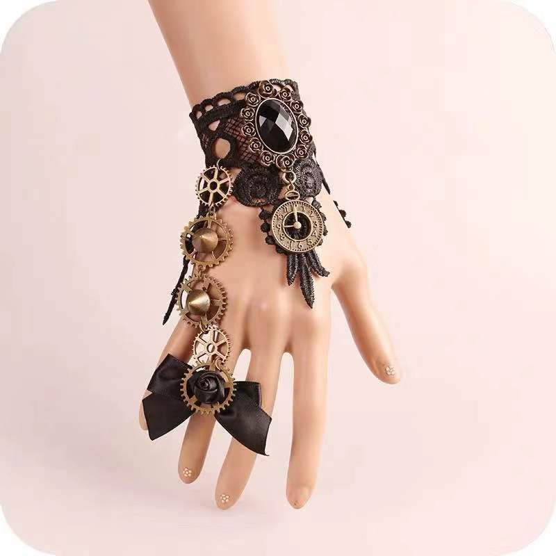 PUNK STYLE MECHANICAL BRACELET