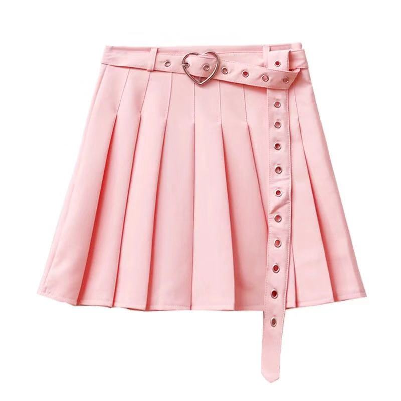 PRETTY GIRL SWEET PLEATED SKIRT BY61999