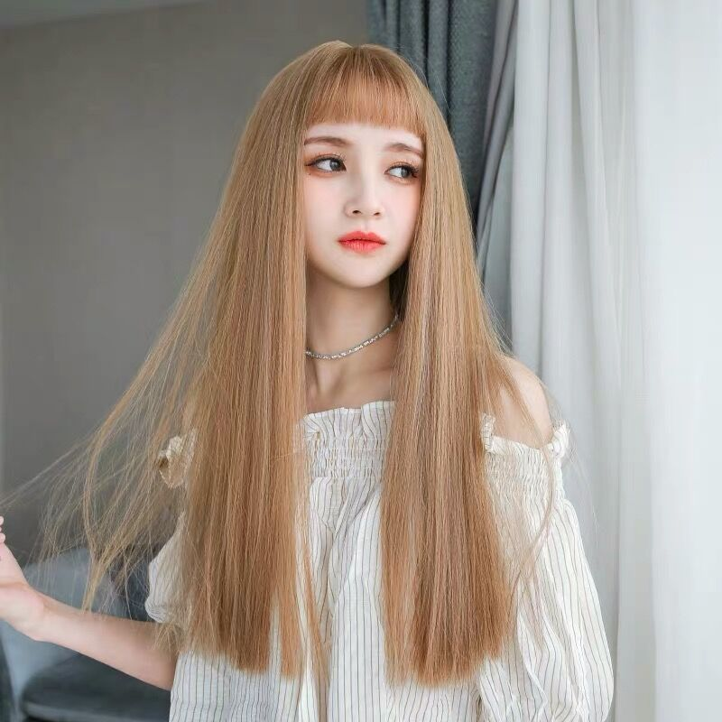 LOLITA GOLDEN LONG STRAIGHT NATURAL WIG BY31035