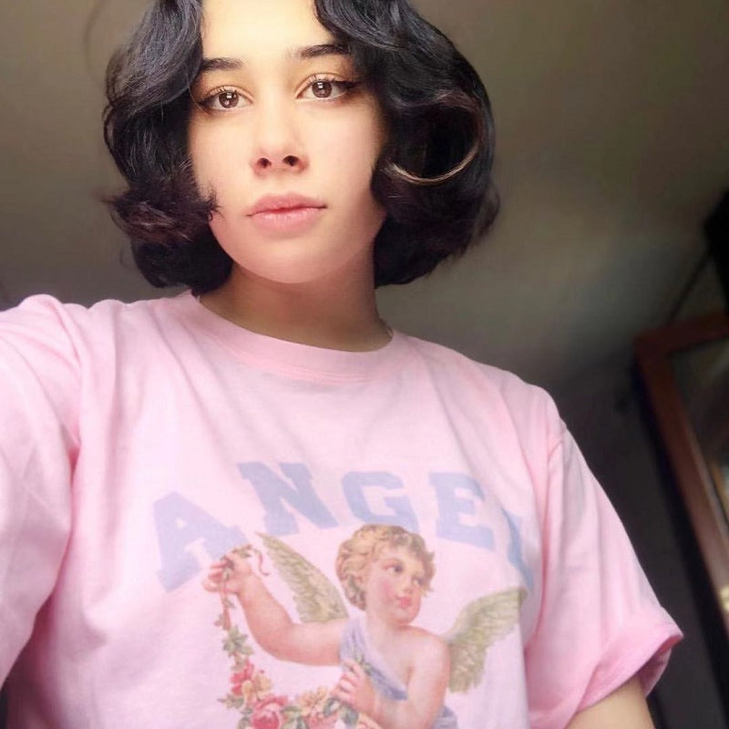 REVIEWS FOR RETRO BF STYLE ANGEL T-SHIRT BY22095