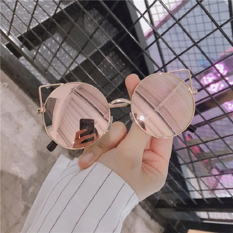 STREET RETRO CUTE CAT EARS SUNGLASSES BY12002
