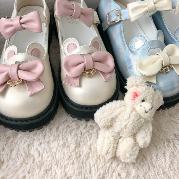 ''SWEET BEAR'' LOLITA BOW SHOES BY52510