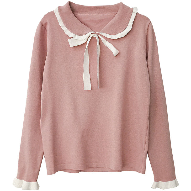 SWEET BOW KNIT SWEATER BY21109