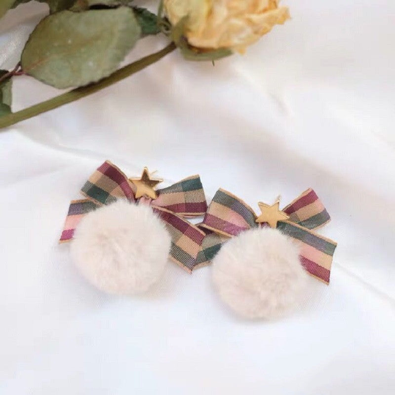 SWEET BOW STUD EARRINGS BY40302