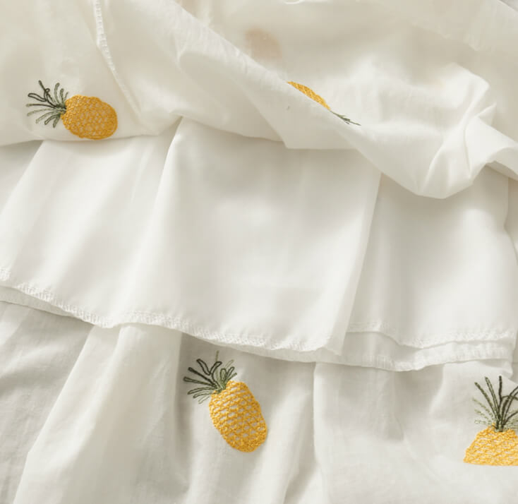 SWEET ''PINEAPPLE & STRAWBERRY'' DRESS BY61205