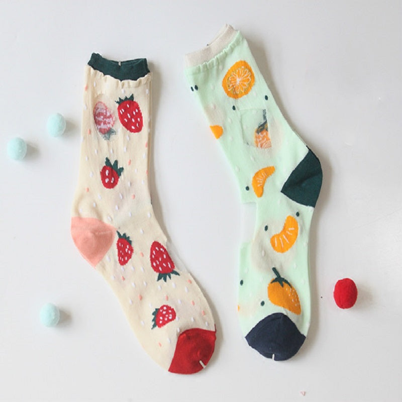 HARAJUKU FRUIT SOCKS