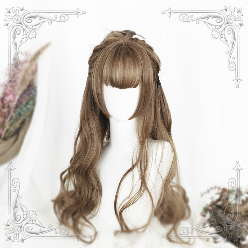 GOLDEN GRAY BIG WAVE WIG
