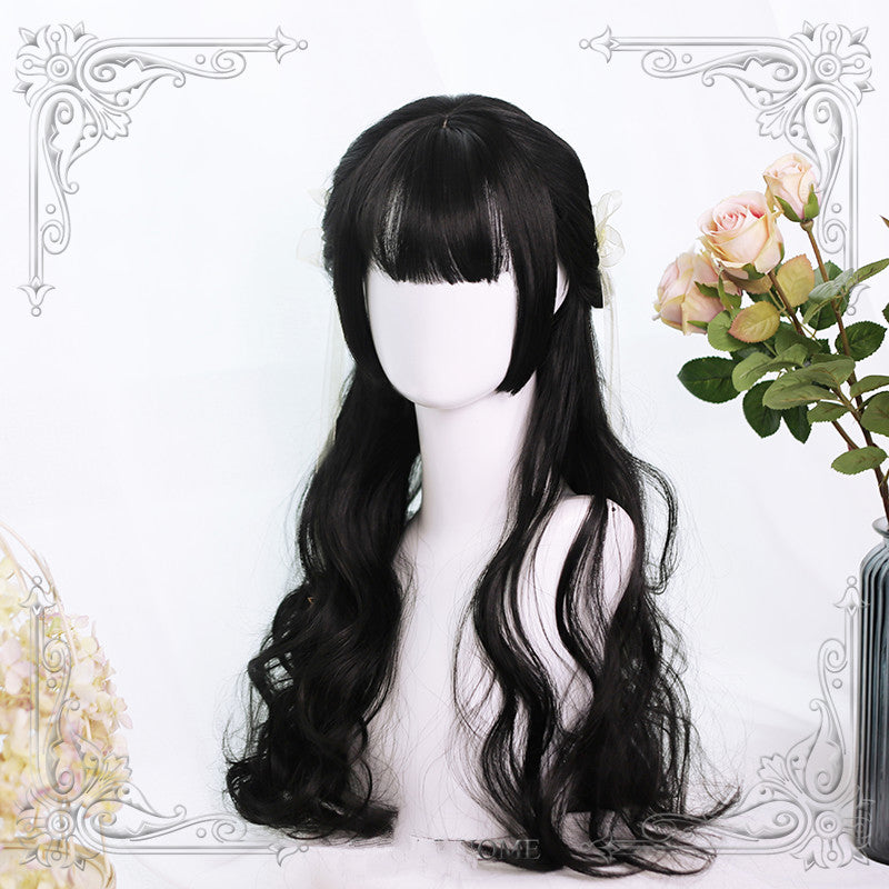 GOLDEN GRAY BIG WAVE WIG BY52901