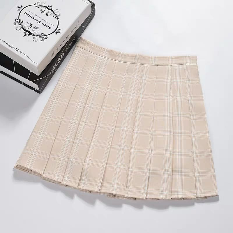 ULZZANG HIGH WAIST PLEATED SKIRT BY61076