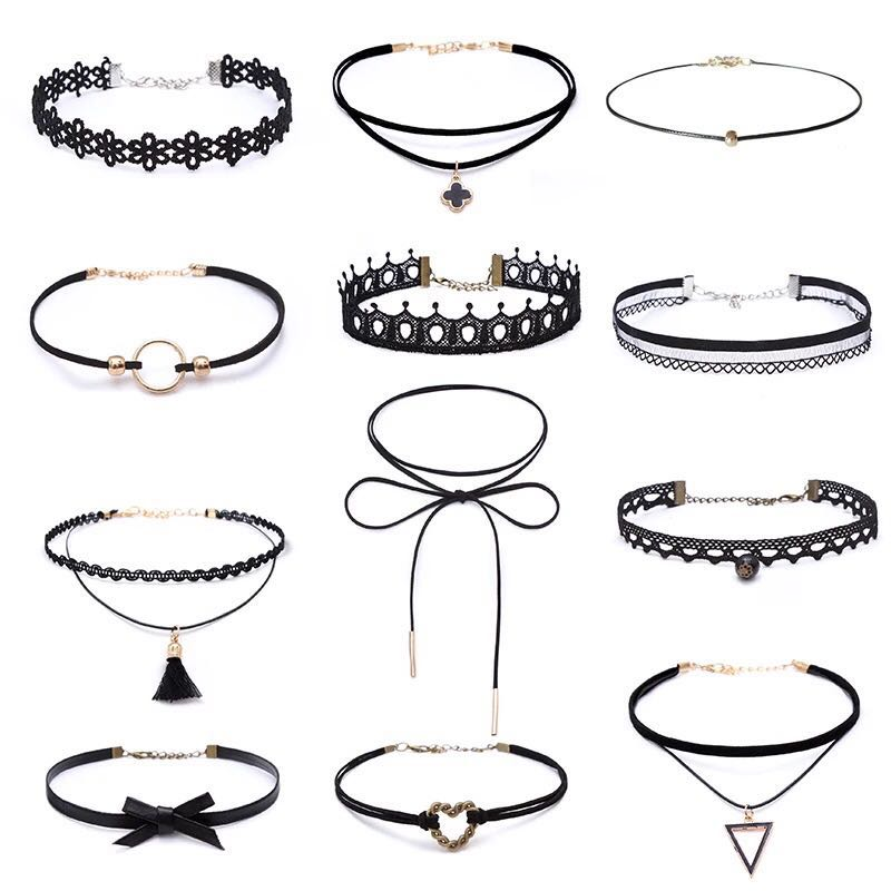VARIOUS NECKLACE SUIT(CHOKER)
