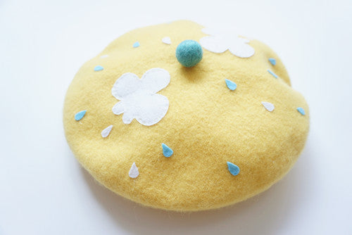 ''WEEPING CLOUDS'' YELLOW BERET BY51021