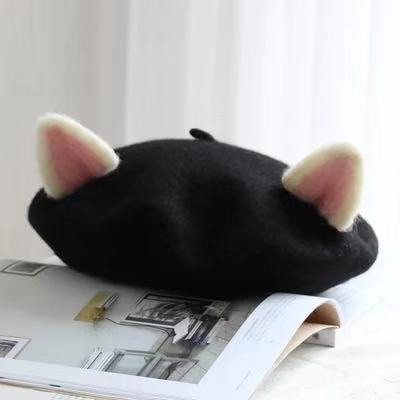 CUTE CAT EARS BERET BBY51010