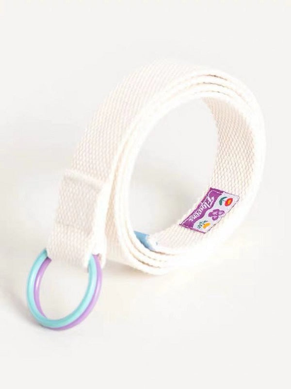 PASTEL CASUAL CANVAS BELT BY18024