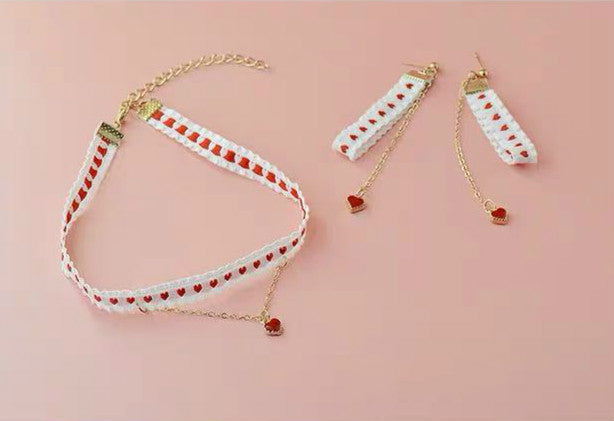 CUTE LOVE CHOKER