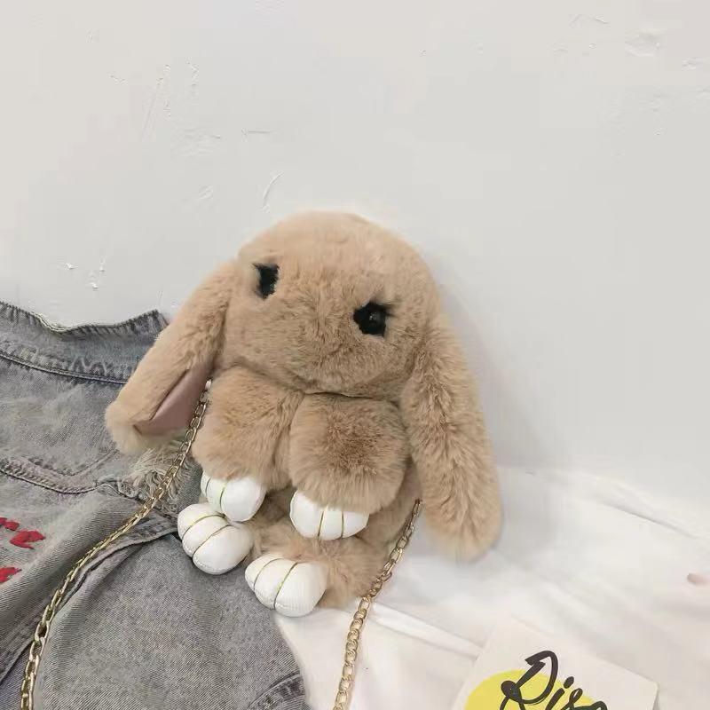 CUTE PLUSH BUNNY SHOULDER BAG |BACKPACK BY94019