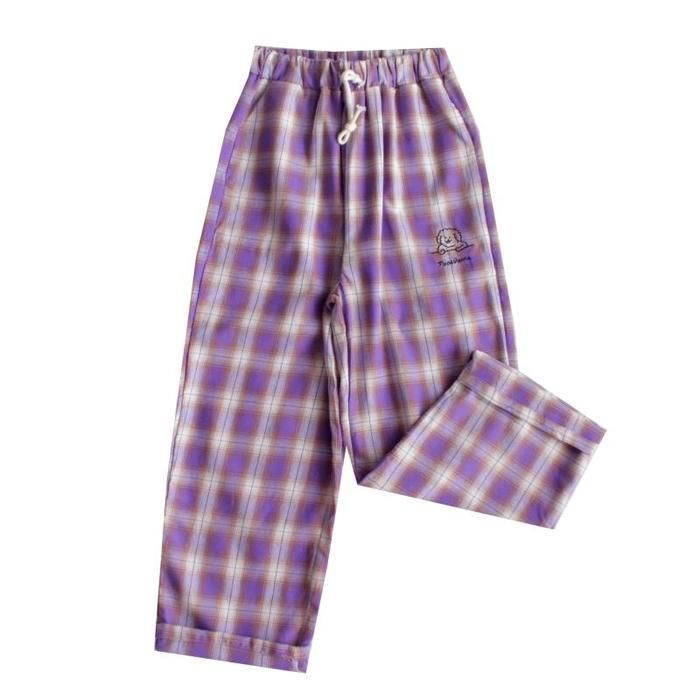 REVIEWS FOR HARAJUKU RETRO PURPLE GRID PANTS BY63011