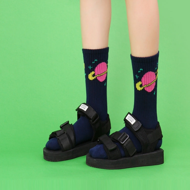 ULZZANG HARAJUKU MID-HEIGHT SOCKS BY64001