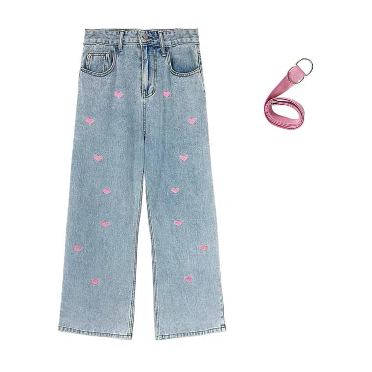 CUTE BM STYLE LOVE JEANS BY41111