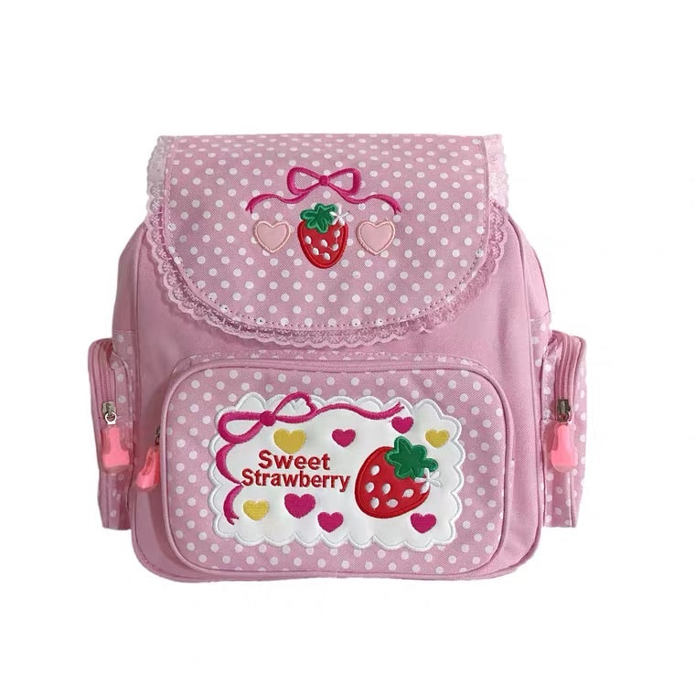 """SWEET STRAWBERRY"" BACKPACK BY50023"