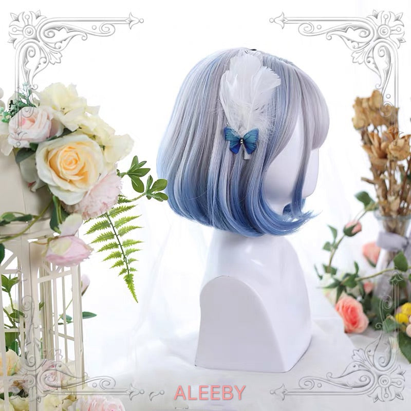 LOLITA AIR BANGS GRADIENT SHORT WIG BY32601