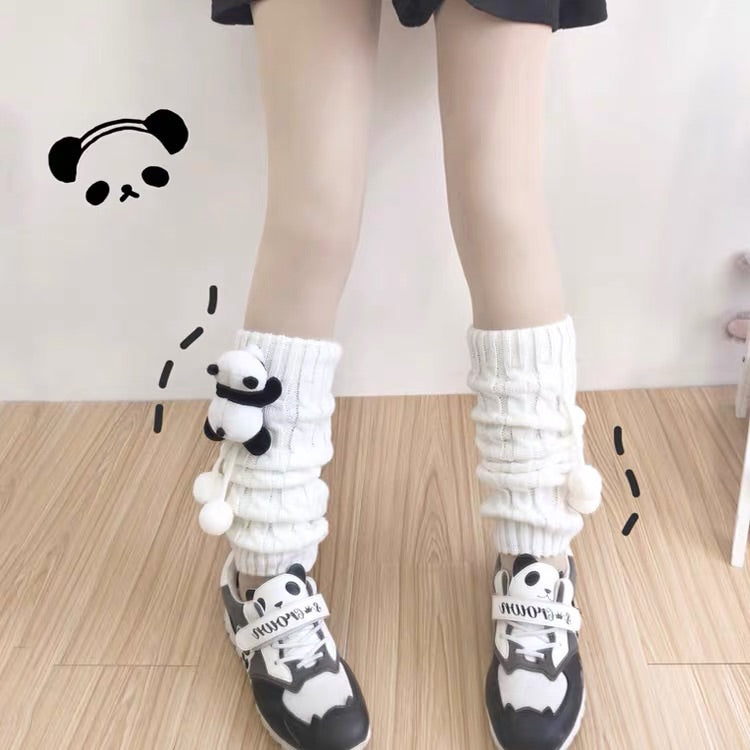 JAPANESE LOLITA CUTE PANDA JK KNIT SOCKS BY42222