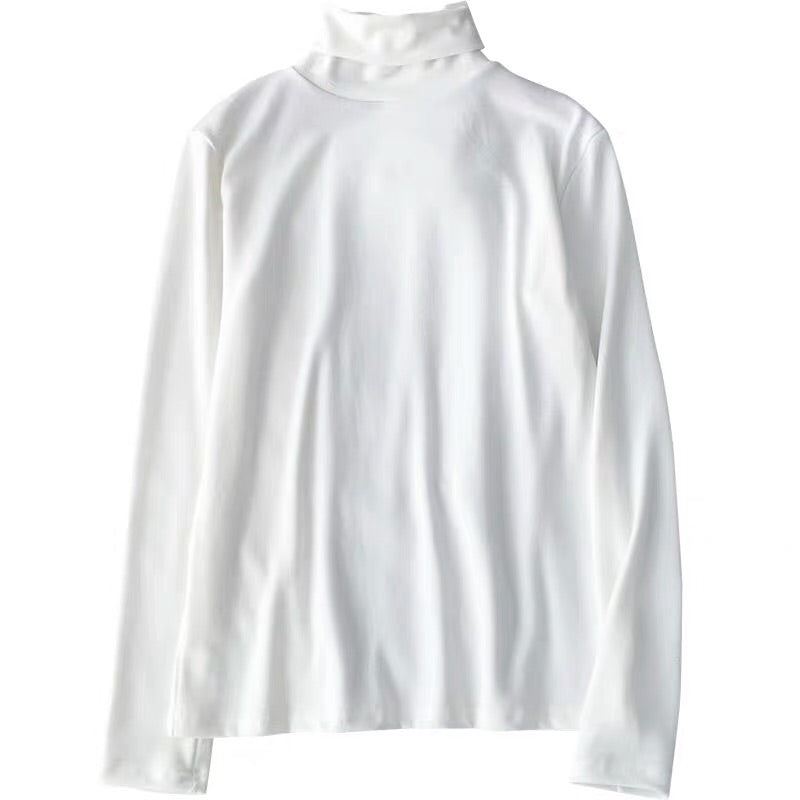 EASY MATCH HIGH NECK LONG SLEEVE SHIRT BY22591