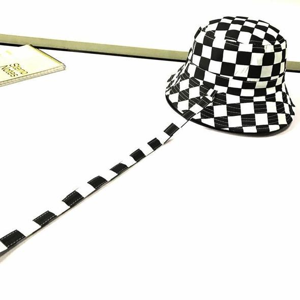 CHECKERS BUCKET HAT BY51043