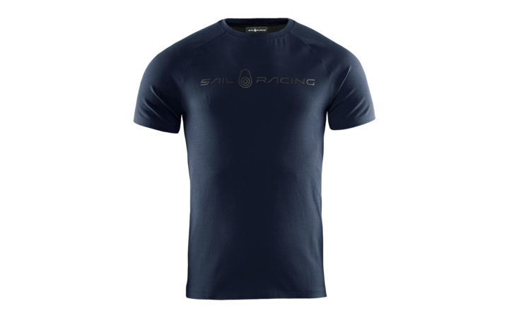 Sail Racing Race Logo Tee, Navy