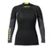 Musto Foiling Thermo Hot Neoprene Long Sleeve Top, Dam, Mörkgrå/Svart