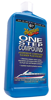 Meguiars One Step Compound Cleaner & Polish