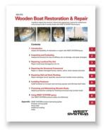 West System Wooden repairs