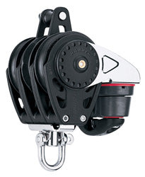 Harken 57mm Carbo Ratchamatic Trippel, Hunsvott Camcleat