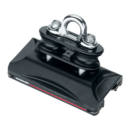 Harken Small Boat HL CB Car w/Pivoting Sheave & Eyestrap
