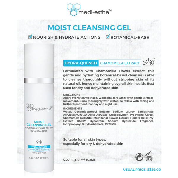 Moist Cleansing Gel