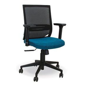 Comet ergonomic mid back office chair with lumbar support from Desk & Chair shop