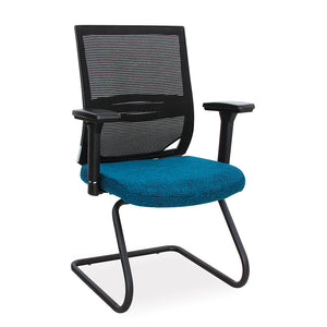 Comet ergonomic office visitors chair with lumbar support from Desk & Chair shop
