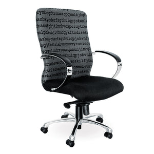 Florida heavy duty office chair with chrome base from Desk & Chair shop
