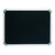 Black felt pinboard with aluminium frame  600x450 mm from Desk & Chair shop