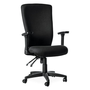 Revive high back managerial office chair in black from Desk & Chair shop