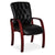 Tabby Bonded Leather Office Visitors chair with wooden legs from Desk & Chair shop