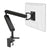 ZGO large computer monitor arm in black with black cap from Desk & Chair shop