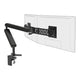 Ztwin computer double monitor arm in black with black cap from Desk & Chair shop