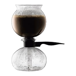 Bodum Pebo Vacuum Coffee Maker - Hansel and Gretel Coffee House