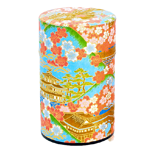 Tea Canister | Japanese Temple Blue 150g