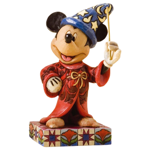 "Disney Traditions by Jim Shore - 11cm/4.25"" Sorcerer Mickey, Touch of Magic"